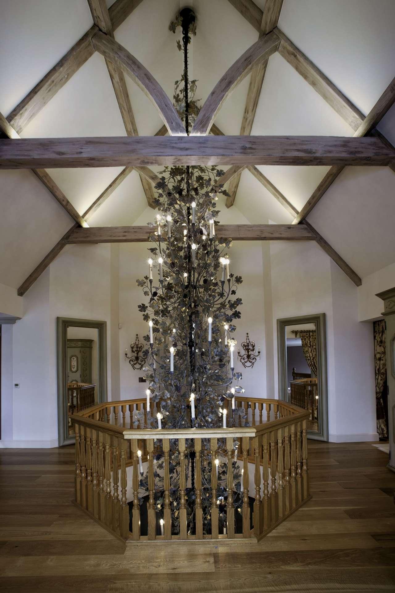 bucks vine residential project chandelier
